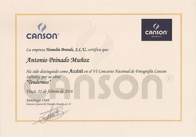 Accésit Canson-Infiniti