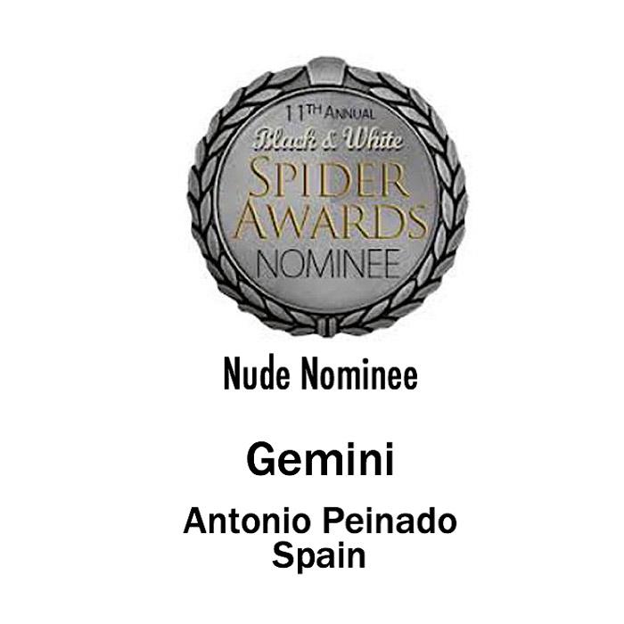 Mejor Fotógrafo del año en Blanco y Negro, categoría Nude