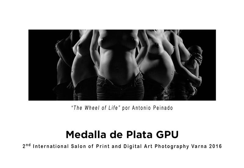 Obra ganadora de la Medalla de Plata GPU en el 2º Salón Internacional del Arte Fotográfico Impreso y Digital en Varna 2016