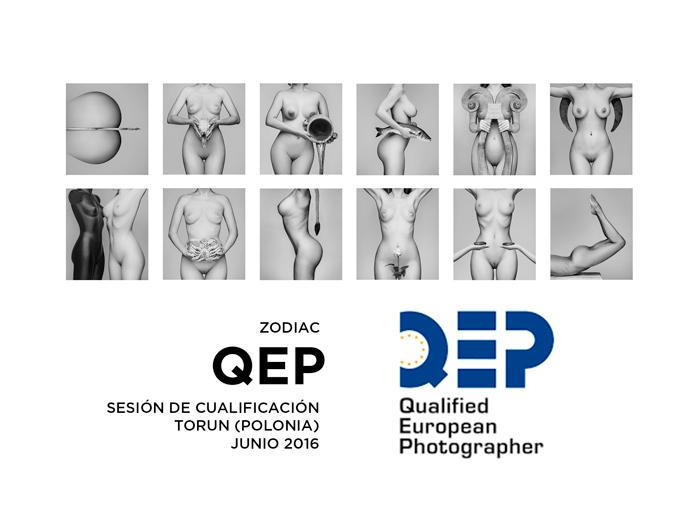 Colección por la que me han concedido el título QEP NUDE PHOTOGRAPHY, Torun (Polonia) Junio 2016